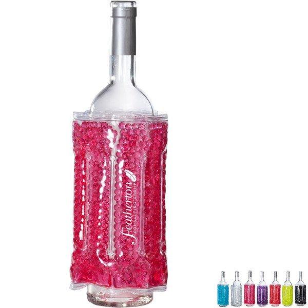 Gel Bead Bottle Cooler Wrap