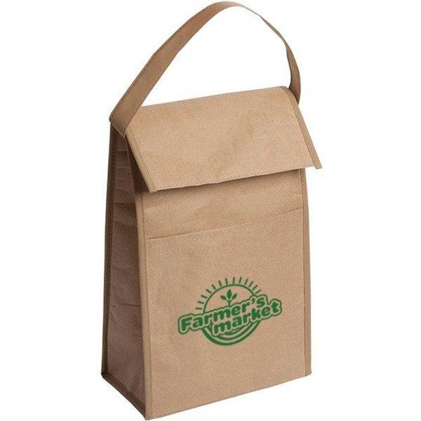 Kraft Paper Retro Lunch Bag