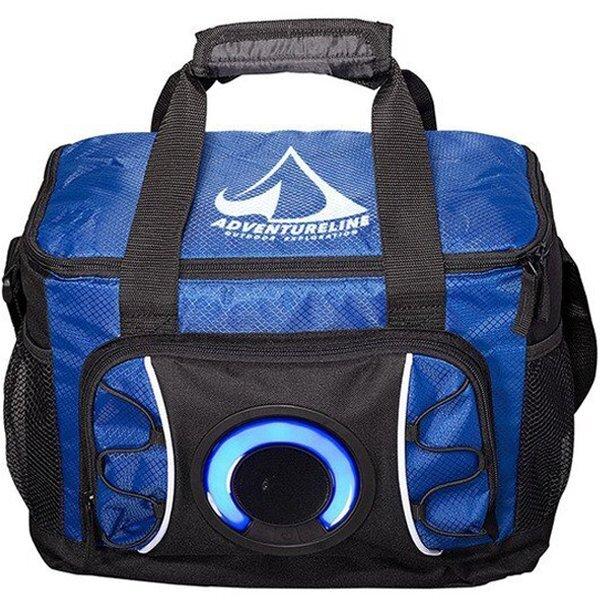 Diamond 24-Can Cooler Bag w/ Wireless Speaker