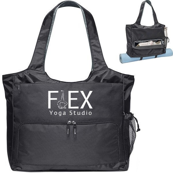 Yoga Polyester Fitness Tote