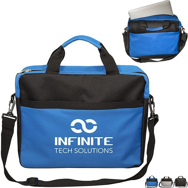 AI Polyester Computer Brief Bag