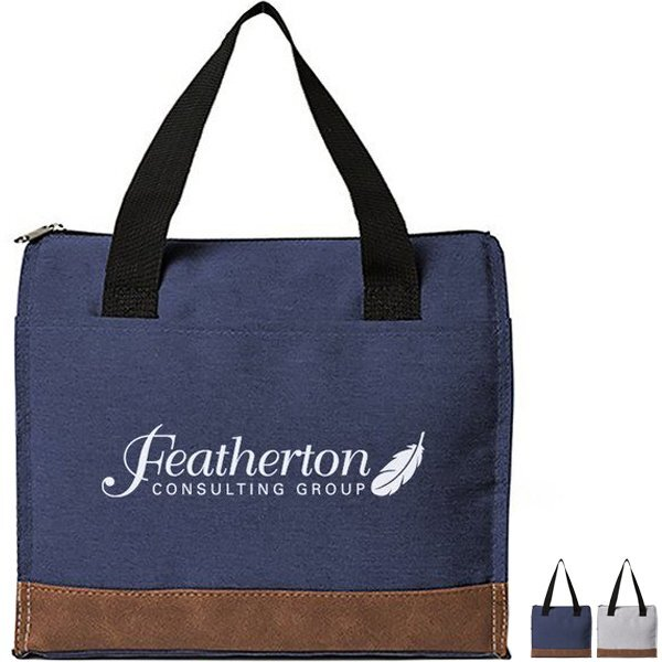 Asher 12-Can Polyester Cooler Tote