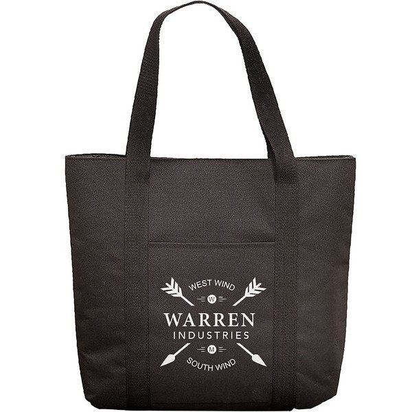 Budget Polyester Laptop Tote