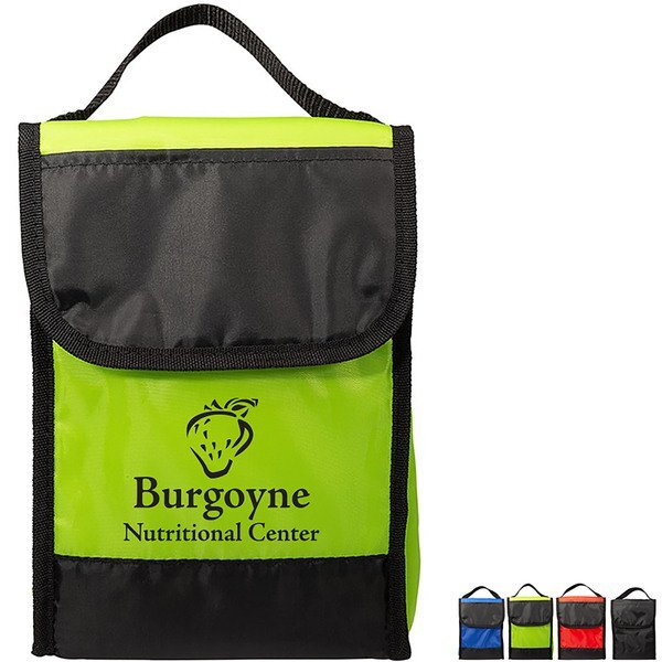 Find My Lunch 4-Can Polyester Cooler Bag
