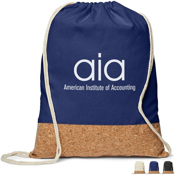 Cotton & Cork Drawstring Backpack