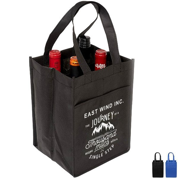 Wine Tote for 4 Bottles