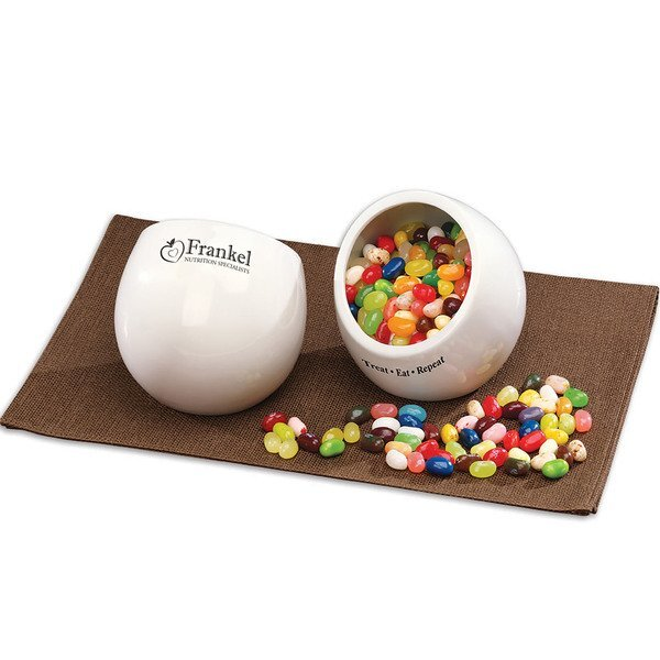 Treat Eat Repeat Candy Dish with Jelly Belly® Jelly Beans