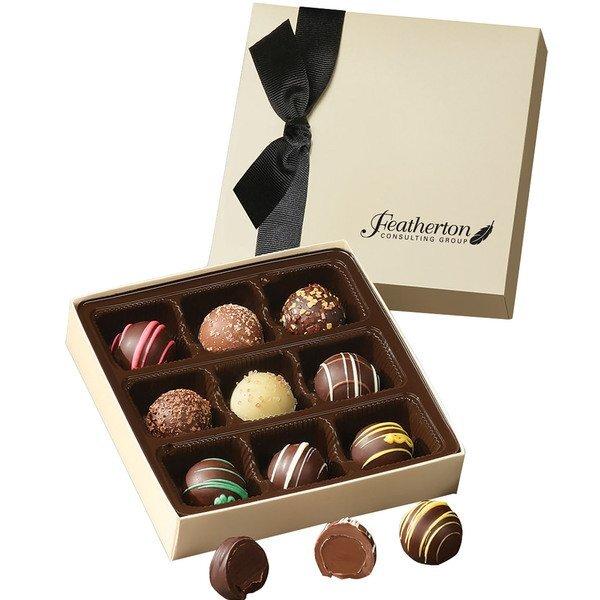 Truffle Assortment Chocolate Elegance Gift Box