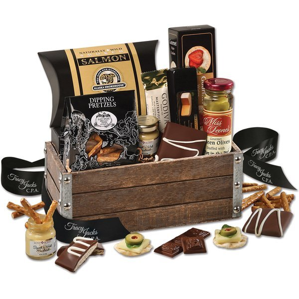 Rustic Entertainer Gift Basket