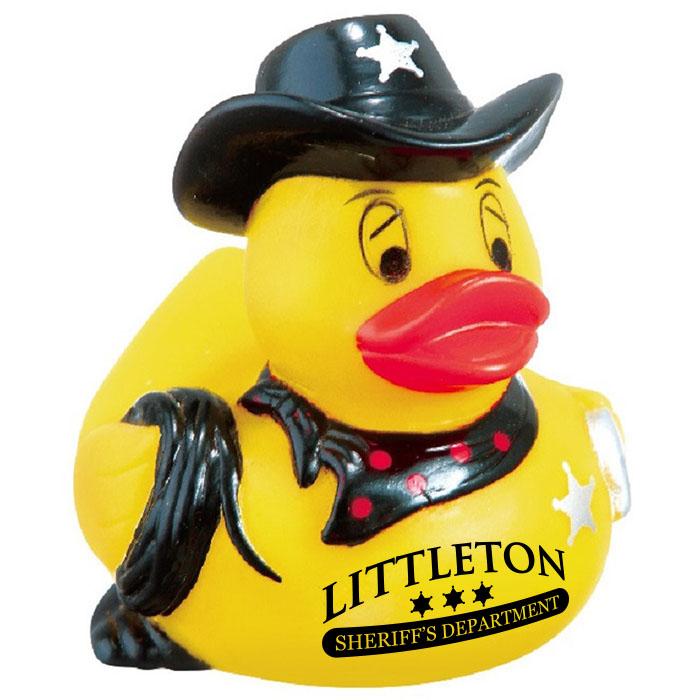 12 Pieces Fun Express Law Enforcement Police Sheriff Rubber Ducks