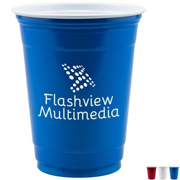 Solo® Plastic Party Cup, 16oz.