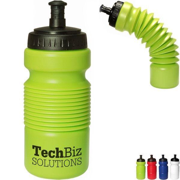 Accordion Collapsible Water Bottle, 28oz.