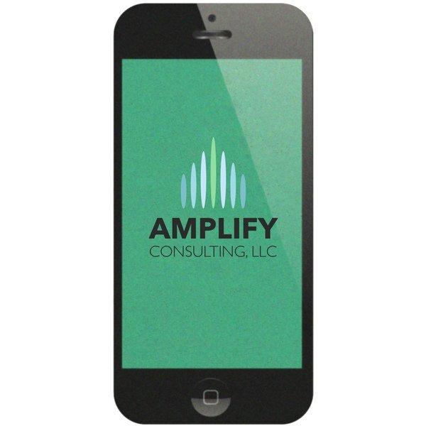 Smartphone Pulpboard Coaster w/ Full Color Imprint, 80 pt.