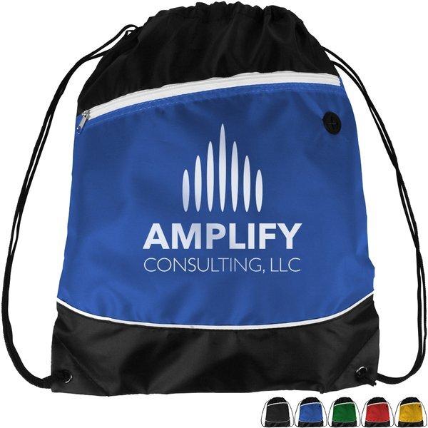 Modern Polyester Drawstring Backpack