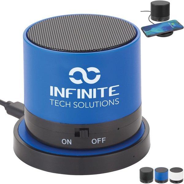 Cosmic Bluetooth Speaker & Wireless Charging Pad Gift Set