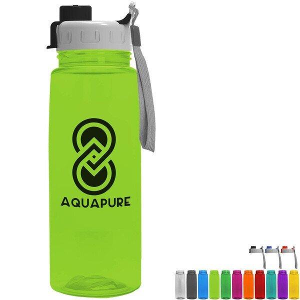 Flair Tritan™ Wide Mouth Sports Bottle, 26oz. - Quick Snap Lid