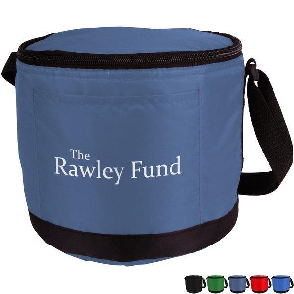 Round Polyester Cooler Bag