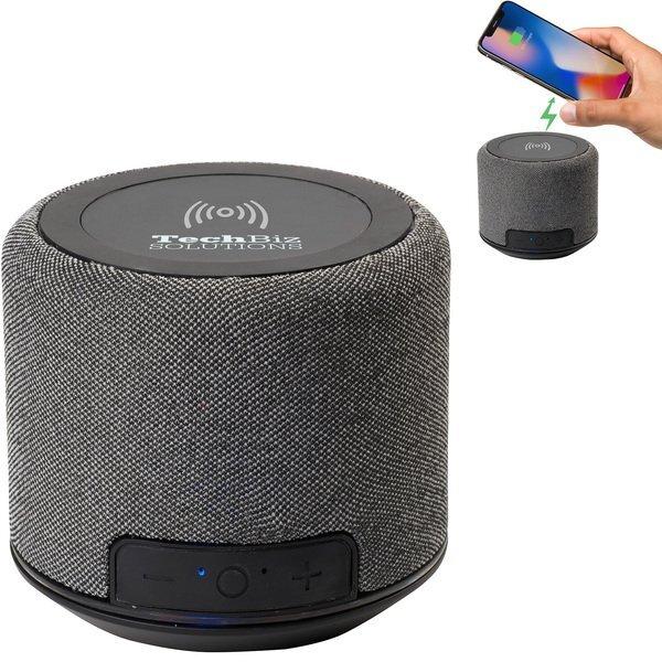 Forward Fabric Speaker with Wireless Charging, 1200mAH
