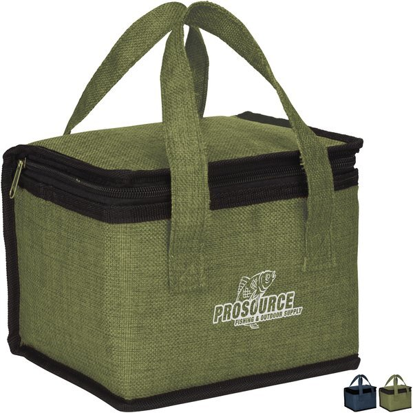 Kai 6 Can Polycanvas Box Lunch Cooler