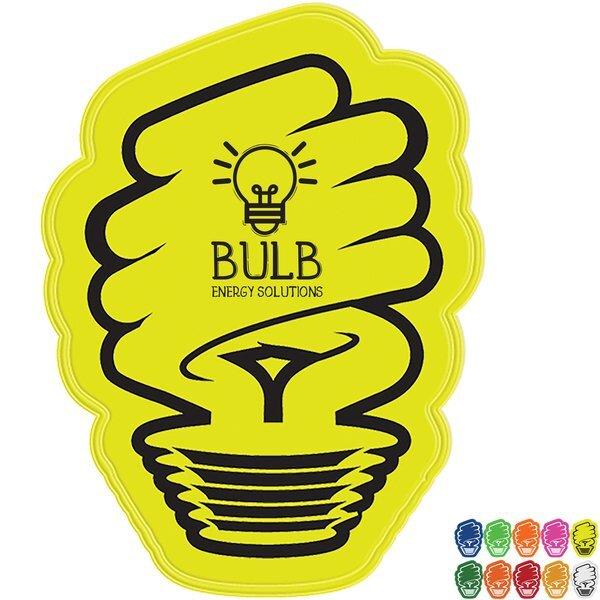 Eco Light Bulb Reflective Sticker