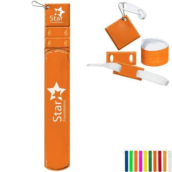 Slap-Wrap Bracelet, Zipper Pull, & Shoelace Tags Combo