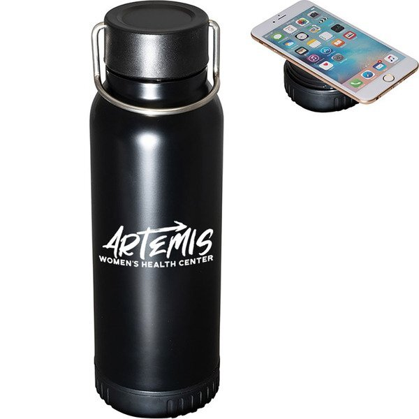 Hydration Charging Station Stainless Steel Bottle, 22oz.