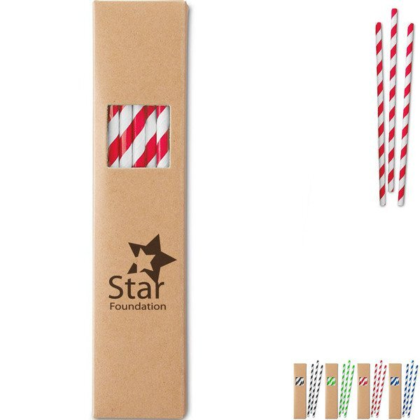 Paper Straw Set, 20pc.