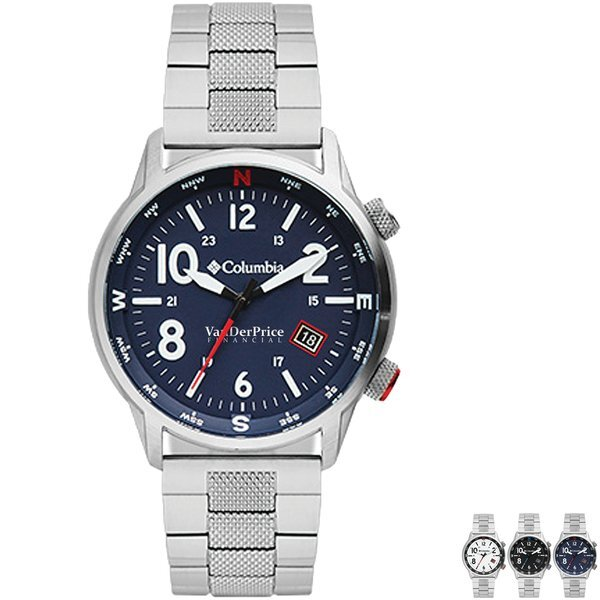 Columbia® Men's Outbacker Watch w/ Stainless Bracelet