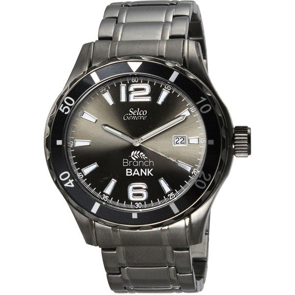 Canvas Gunmetal Men's Watch
