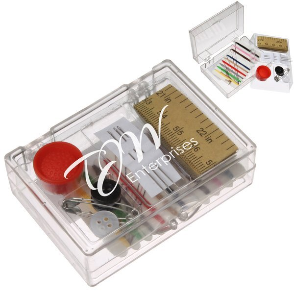Six-In-One Sewing Kit in Acrylic Case