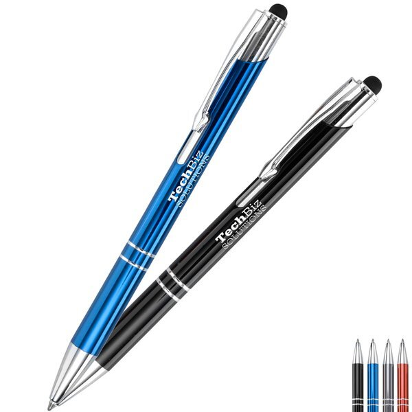 Hampton Retractable Metal Stylus Pen