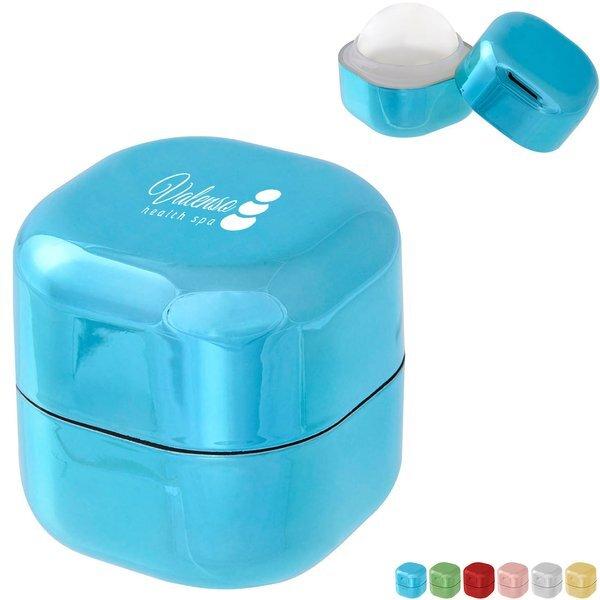 Metallic Vanilla Lip Moisturizer Cube
