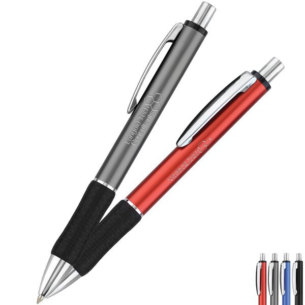 Benton Metallic Retractable Pen