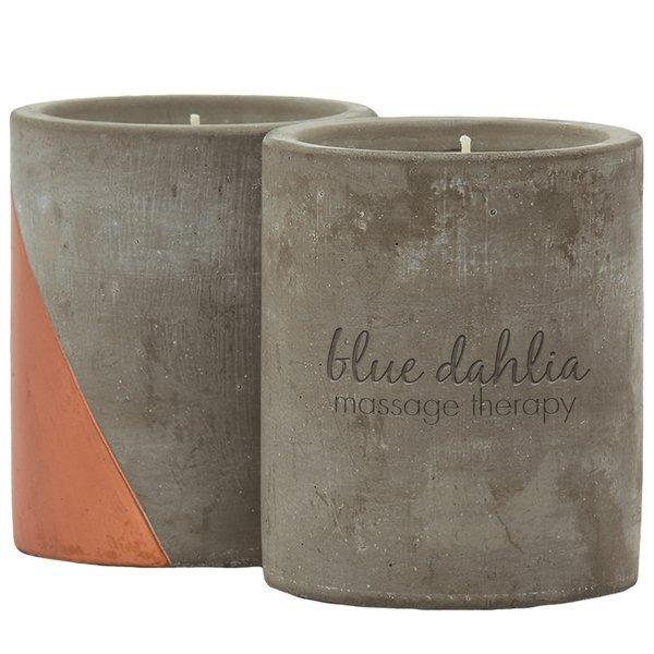 Serenity Concrete Candle, 12oz.