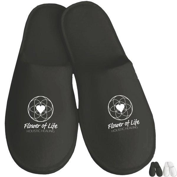 Velour Travel Slippers