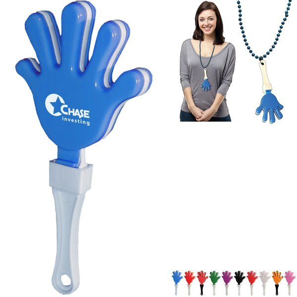 Hand Shape Hand Clapper w/ J-Hook