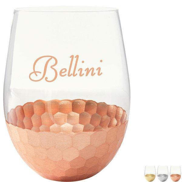 Florence Stemless Wine Glass, 18oz.