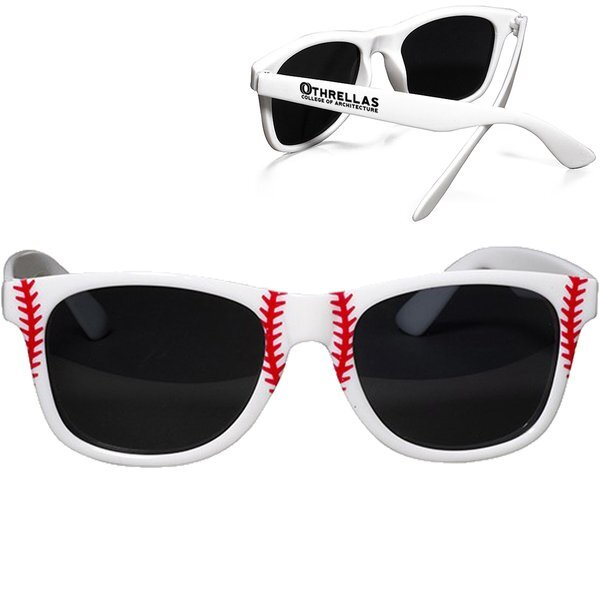 Baseball Theme Sunglasses