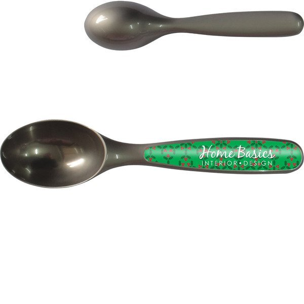 Chrome Plated Ice Cream Scoop w/ Full Color Imprint