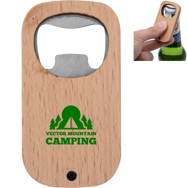 Bamboo Bottle Opener