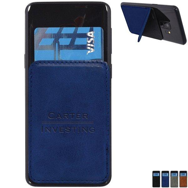 Kickstand Adhesive Phone Wallet