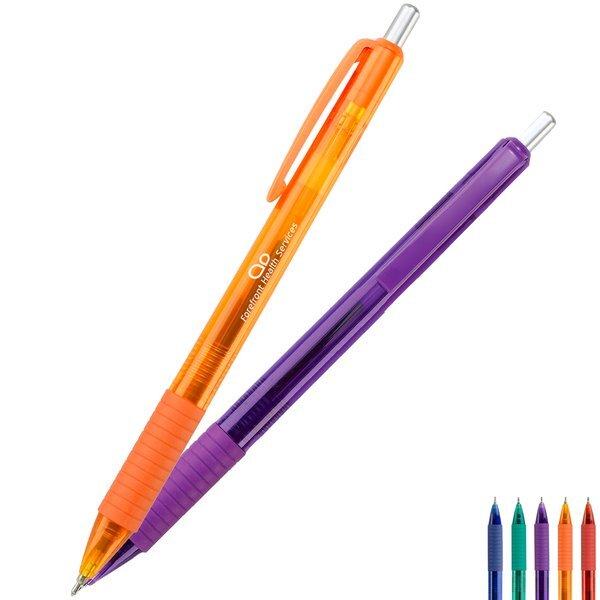 Challenger Bright Translucent Click Pen