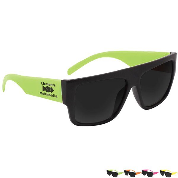 Beachcomber Neon Sunglasses
