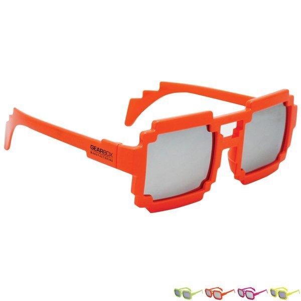 Neon Pixel Sunglasses