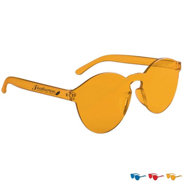 Rimless UV Sunglasses