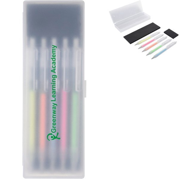 Jazi Gel Pen & Sticky Pad Set