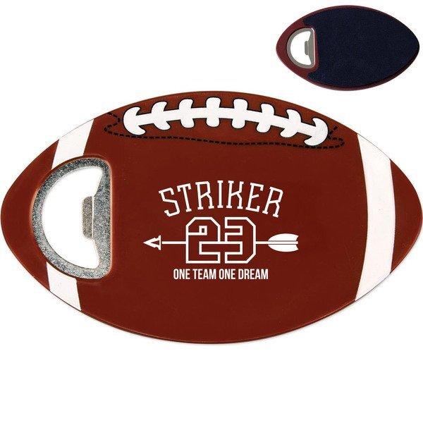 Football Coaster Bottle Opener