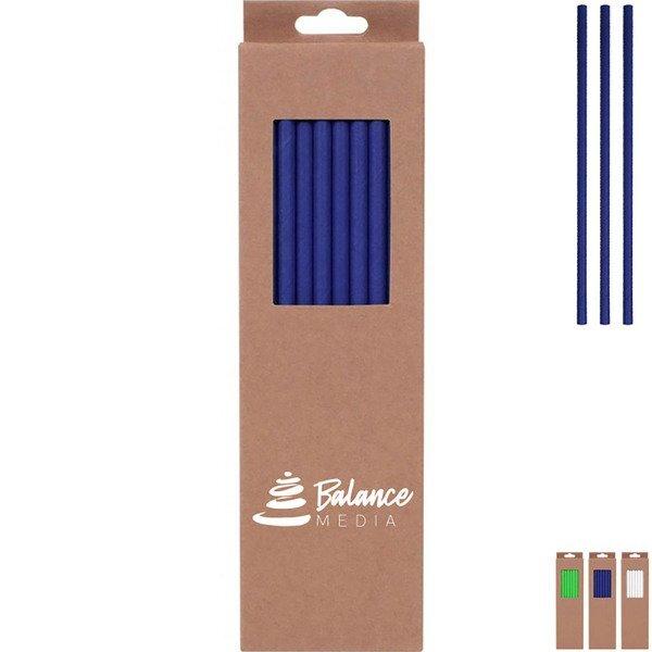 Paper Straws in Box, 20pc.