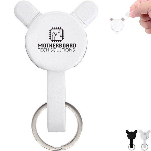 Mini Charging Cable Keychain