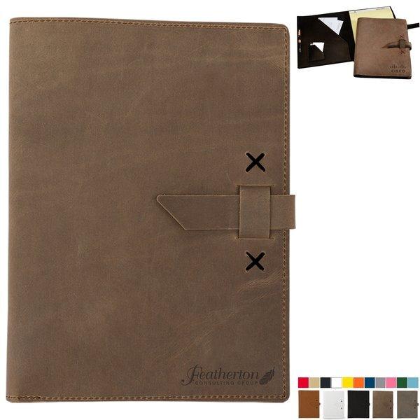 Tasker Leather Full-Size Padfolio